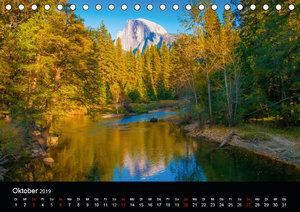 Yosemite National Park im Herbst (Tischkalender 2019 DIN A5 quer