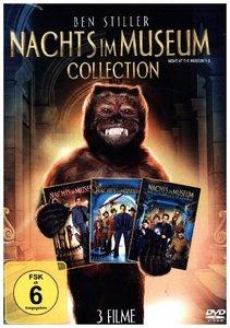 Nachts im Museum 1-3, 3 DVDs