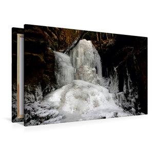 Premium Textil-Leinwand 120 cm x 80 cm quer Beuthenfall