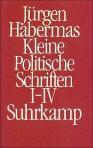 Kleine politische Schriften I/IV (Ln)