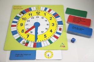Mathespiel - Uhrzeit