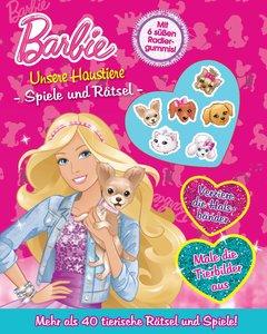 Barbie - Unsere Haustiere Spiele und Rätsel