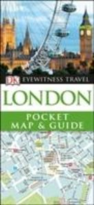 DK Eyewitness Travel London Pocket Map and Guide