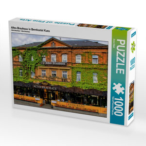Altes Brauhaus in Bernkastel Kues 1000 Teile Puzzle quer