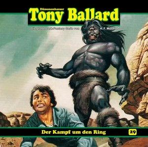Tony Ballard 29-Der Kampf um den Ring