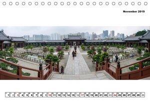 City - Panoramen (Tischkalender 2019 DIN A5 quer)