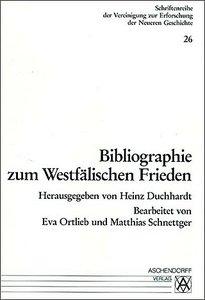 Bibliographie zum Westfälischen Frieden