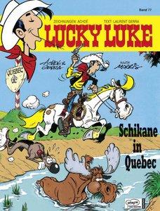 Lucky Luke 77 Schikane in Quebec