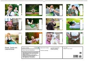 Dirndl, Tracht und Lebensfreude (Wandkalender 2020 DIN A2 quer)