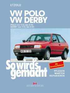 Polo von 9/81 bis 8/94, Derby von 9/81 bis 8/85
