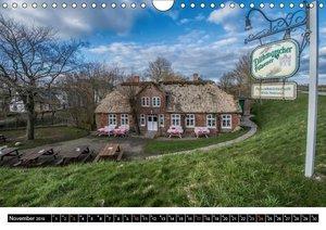 Träumende Bilder - Die Nordseehalbinsel Eiderstedt (Wandkalender