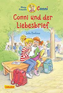 Conni-Erzählbände, Band 2: Conni und der Liebesbrief mit farbige