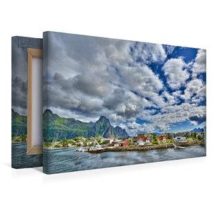 Premium Textil-Leinwand 45 cm x 30 cm quer Svolvær