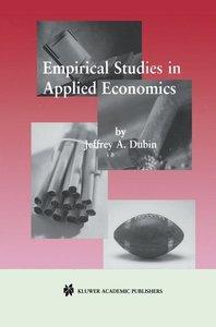 Empirical Studies in Applied Economics
