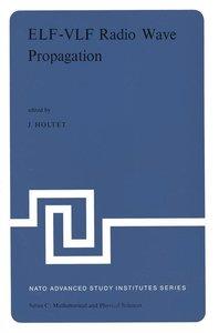 ELF-VLF Radio Wave Propagation