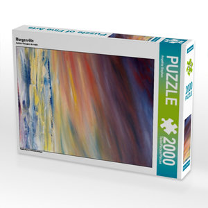 Morgenröte 2000 Teile Puzzle hoch