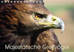 Majestätische Greifvögel (Tischkalender 2019 DIN A5 quer)