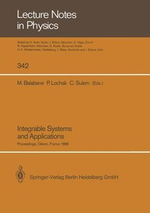 Integrable Systems and Applications