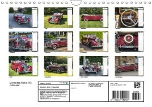 Mercedes Benz 170 Cabriolet (Wandkalender 2019 DIN A4 quer)
