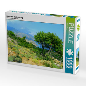 CALVENDO Puzzle Kretas NW-Küste entlang 1000 Teile Lege-Größe 64