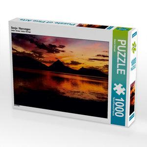 Senja / Norwegen 1000 Teile Puzzle quer