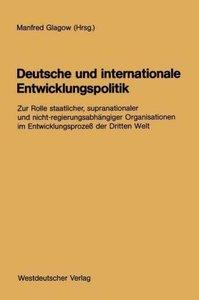 Deutsche und internationale Entwicklungspolitik
