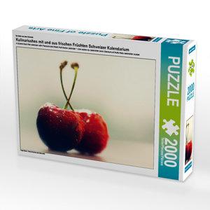 CALVENDO Puzzle Kulinarisches mit und aus frischen Früchten Schw