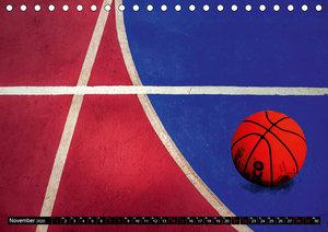 Basketball Action (Tischkalender 2020 DIN A5 quer)