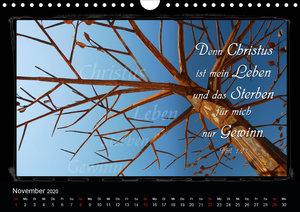 Monat für Monat ein Bibelvers (Wandkalender 2020 DIN A4 quer)