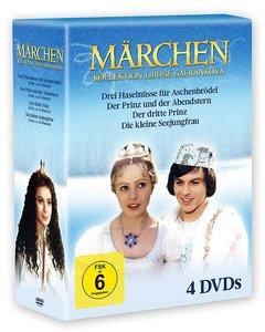 Märchen-Collection Libuse Safránková, 4 DVDs (Limiti