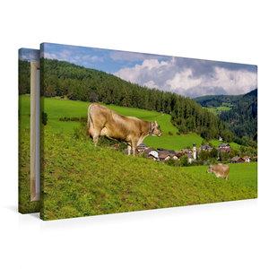 Premium Textil-Leinwand 90 cm x 60 cm quer St. Lorenzen