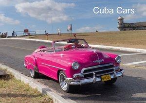 Cuba Cars (Posterbuch DIN A2 quer)