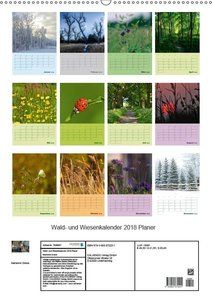 Wald- und Wiesenkalender 2018 Planer
