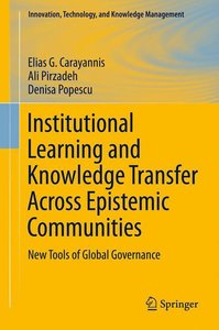 Institutional Learning and Knowledge Transfer Across Epistemic C