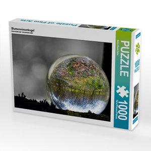 Blumenwiesenkugel 1000 Teile Puzzle quer