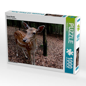Sweet Bambi 1000 Teile Puzzle quer