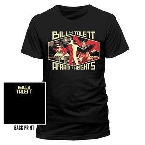 Afraid Of Heights (T-Shirt,Schwarz,Größe S)