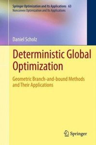 Deterministic Global Optimization