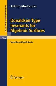 Donaldson Type Invariants for Algebraic Surfaces