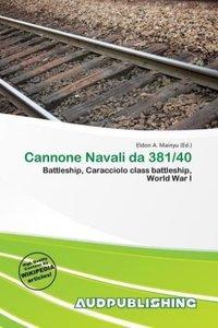 CANNONE NAVALI DA 381/40