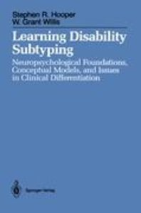 Learning Disability Subtyping