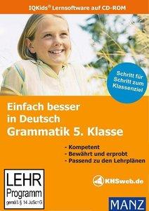 Fit in Deutsch: Grammatik 5. Klasse. Einfach besser lernen. Wind