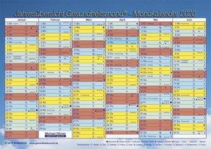 Gesundheitsmond®-Mondkalender 2020