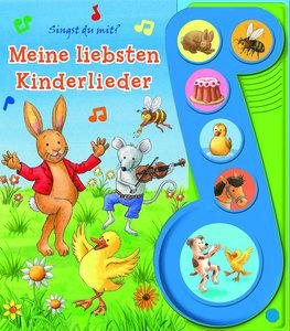 Meine Liebsten Kinderlieder - Liederbuch mit Sound