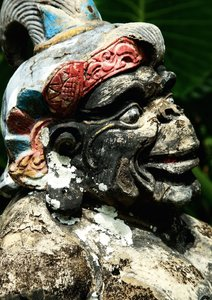 Bali Stonesfaces (Posterbuch DIN A3 hoch)