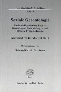 Soziale Gerontologie.