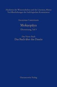 Anonymus Casmiriensis Mok¿opaya. Historisch-kritische Gesamtausg