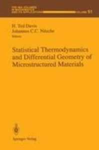 Statistical Thermodynamics and Differential Geometry of Microstr