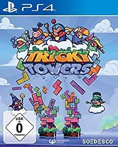Tricky Towers, 1 PS4-Blu-ray Disc