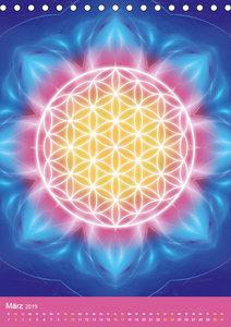 Blume des Lebens - Harmonie durch Symbolkraft (Tischkalender 201